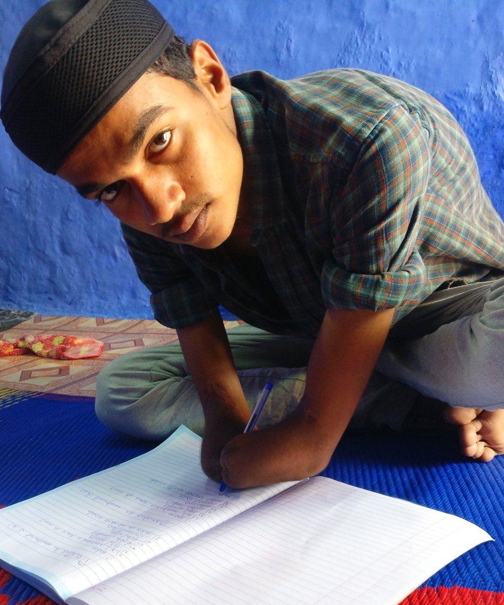 Hasnain Raza Malegaon Handicaped Man