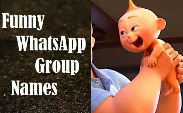 Funny WhatsApp Group Names