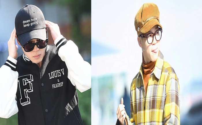 BTS JIMIN Pul Off Hats
