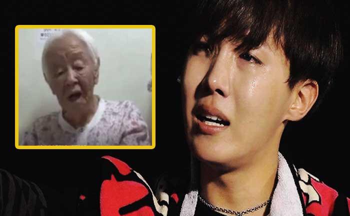 BTS J-Hope Cries