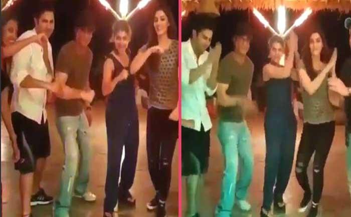 Dilwale Cast Dance Prem Ratan Dhan Payo