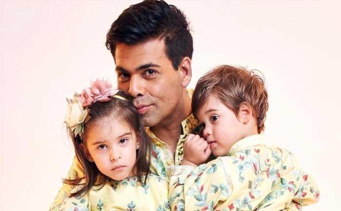 Karan Johar son calls him Monkey