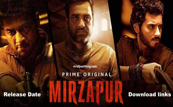 Mirzapur season 2 release date trailer cast plot