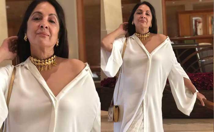Neena Gupta dancing