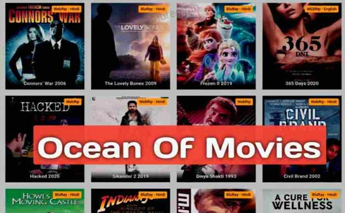 Occean of Movies website
