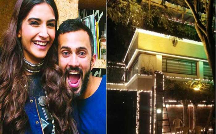 Sonam Kapoor Anand Ahuga Delhi House Inside Pics