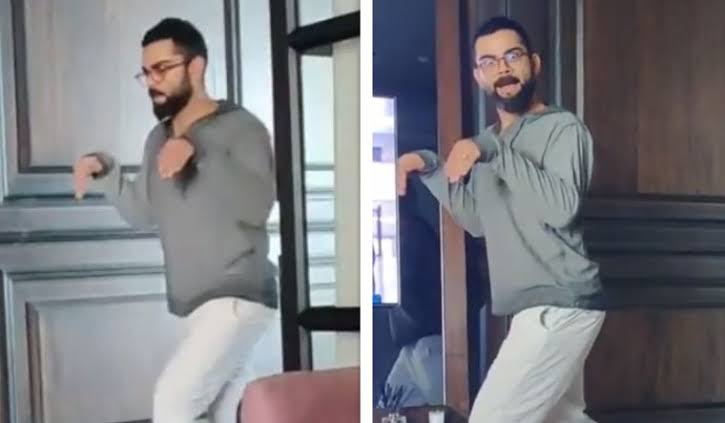 Virat Kohli Imitate Diansour