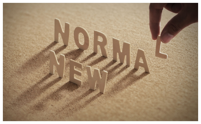 Accept the new normal