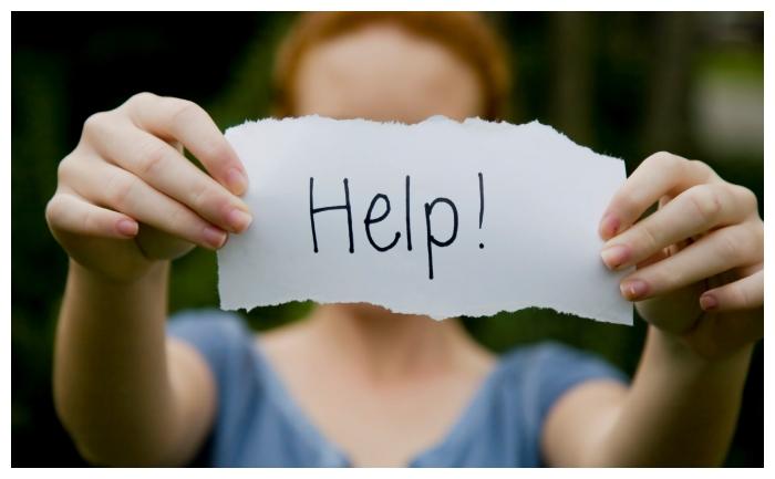 seek help when required