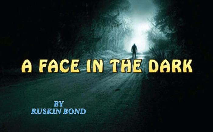 A face in the dark