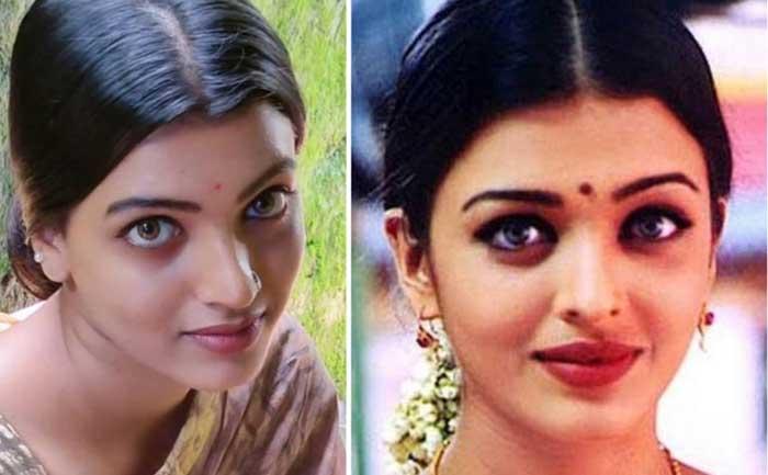 Aishwarya Rai look alike Amrutha Picasso