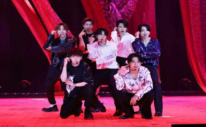 BTS Bang Bang Con The Live Earning