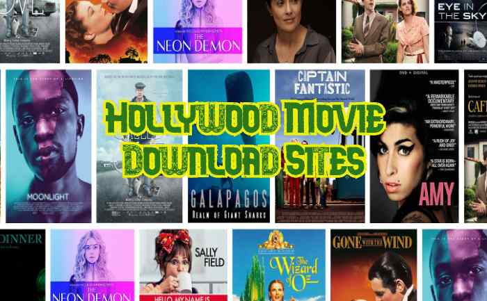 Hollywood Movie download sites
