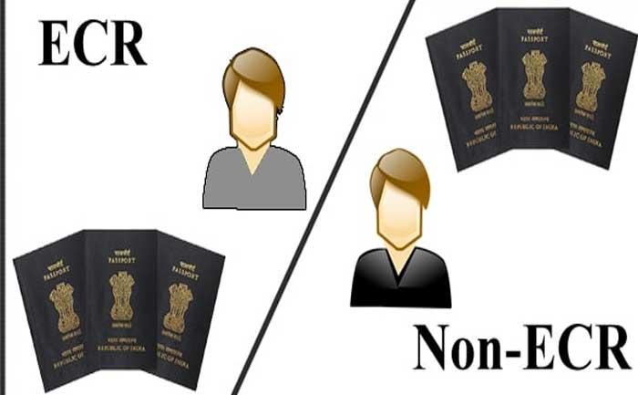 What ECR Non ECR Mean