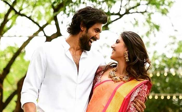 Rana Daggubati and miheeka