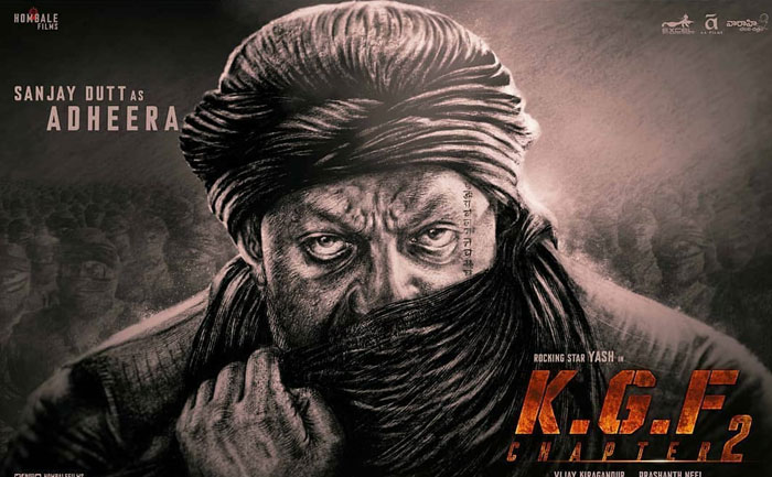 Sanjay Dutt KGF 2 new look