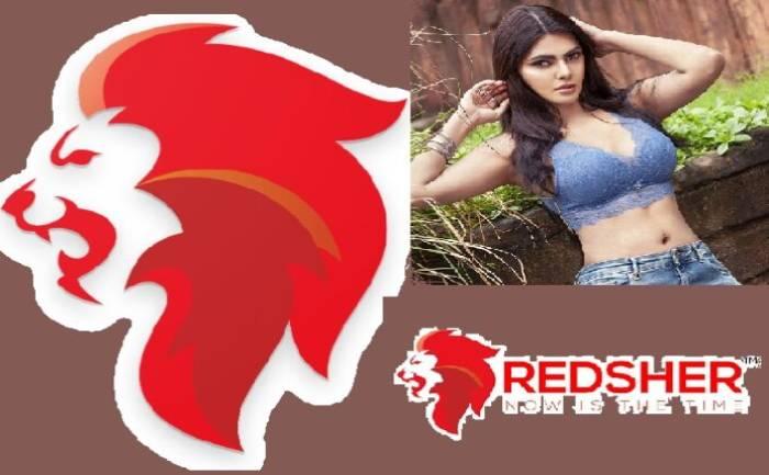Sherlyn Chopra Red Sher