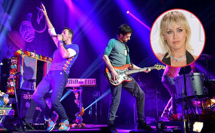 Coldplay, Miley Cyrus and others