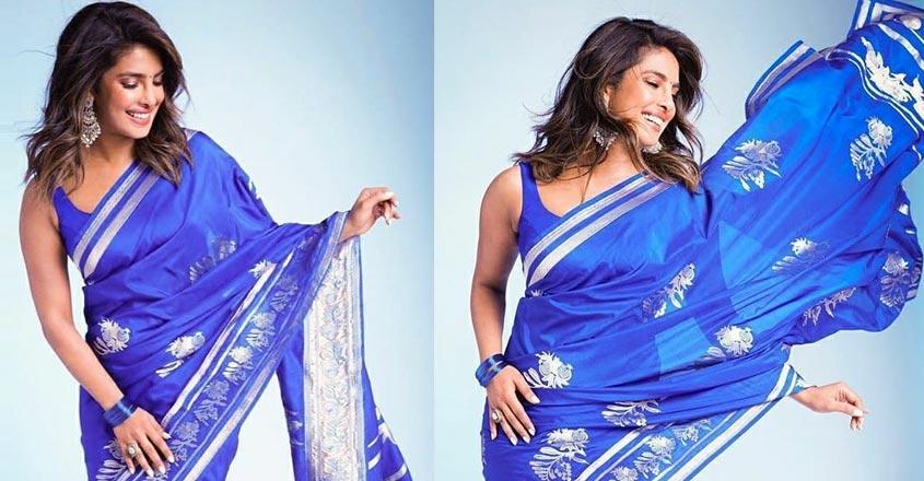 happy birthsay priyanka chopra- 5 times desi girl rocked her saree looks