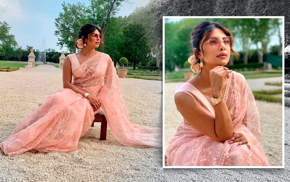 happy birthday priyanka chopra- 5 times desi girl rocked her saree look