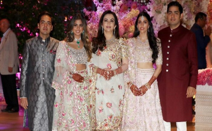 Shloka Mehta and Ambani family