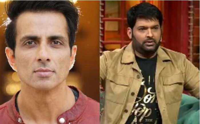 Sonu Sood and Kapil Sharma