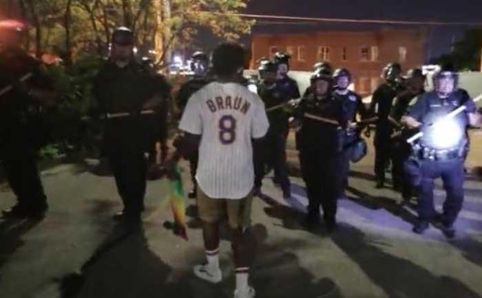 Black man shot multiple times
