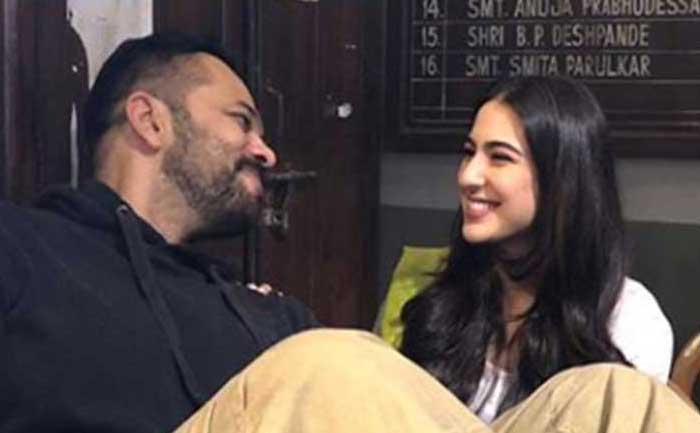 Rohit Shetty and Sara Ali Khan