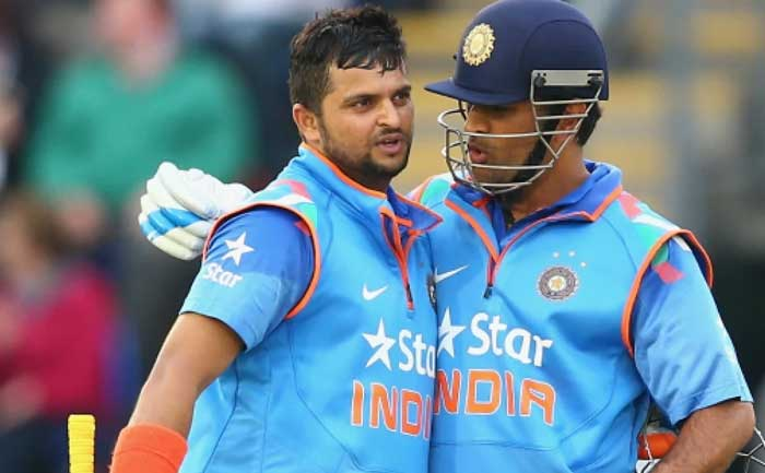 Suresh Raina MS Dhoni Retired