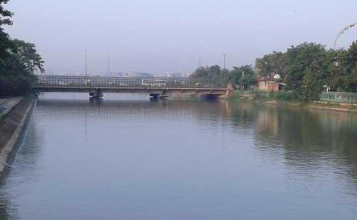 Yamuna river water rises