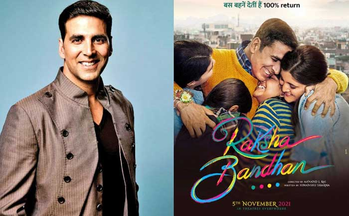Akshay Kumar announces movie on Rakshabandhan