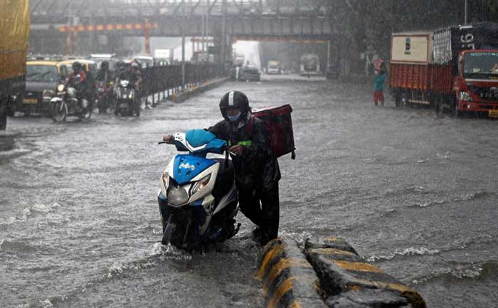Mumbai waterlogged areas