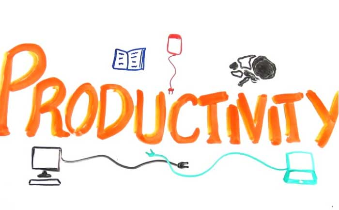 ways to be productive in life