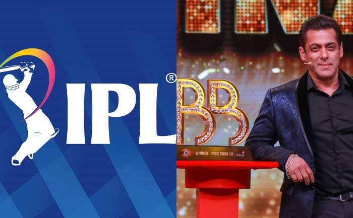 Bigg Boss and IPL 2020