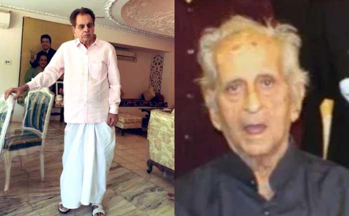 Dilip Kumar's brother Ehsaan Khan passes away