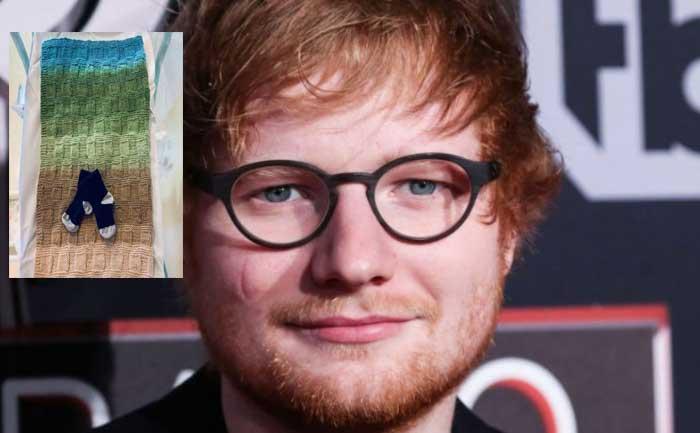 Ed Sheeran gave birth to a baby girl