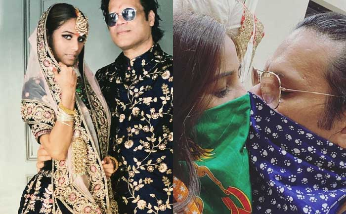 Poonam Pandey and Sam Bombay gets hitched