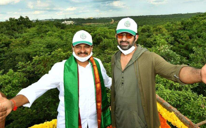 Prabhas adopts forest