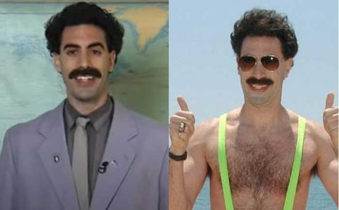 Sacha Baron cohen completed Borat 2