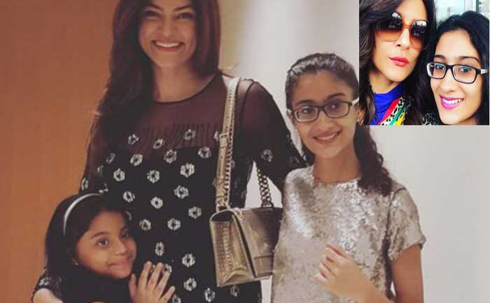 Sushmita Sen celebrates daughter Renee's birthday