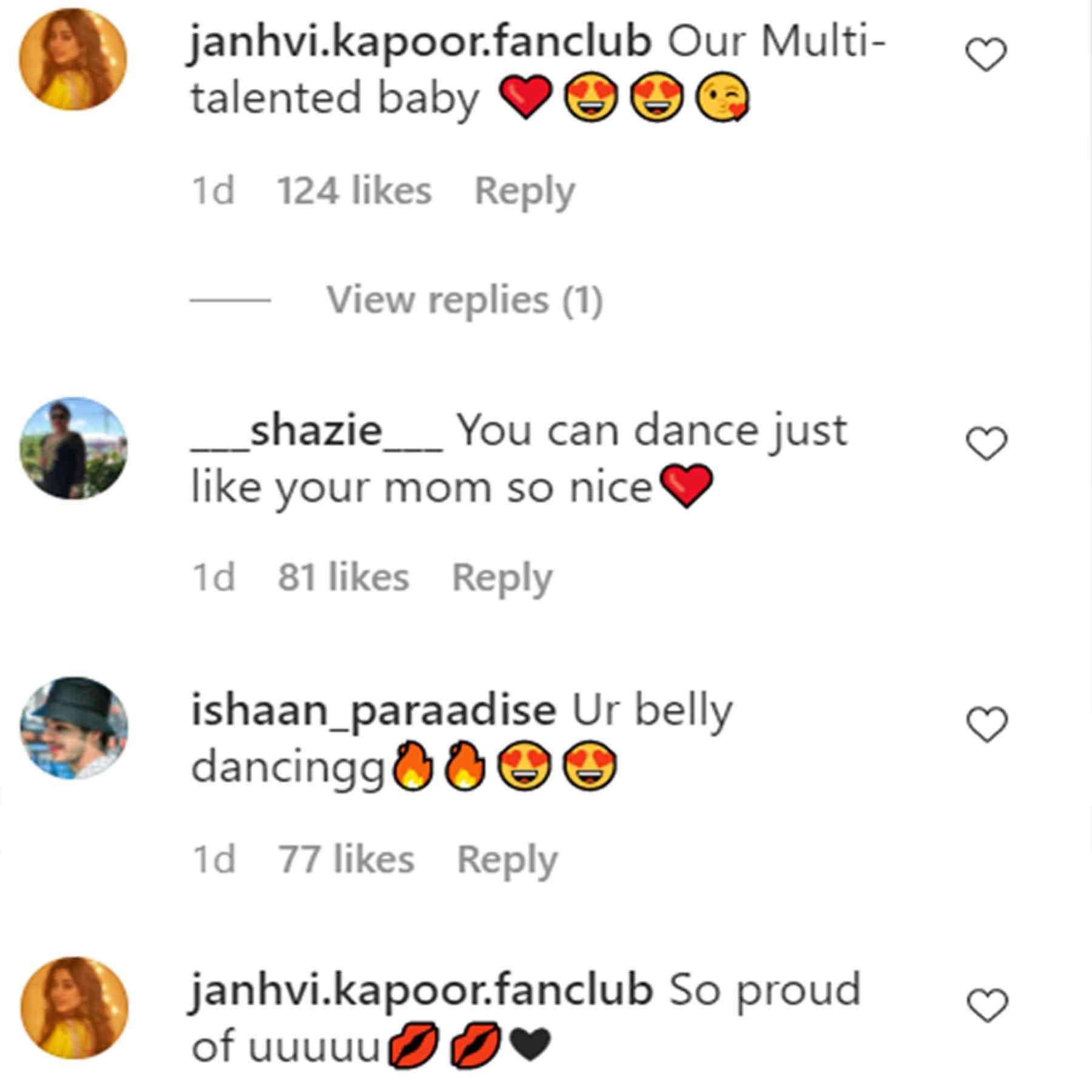 Janhvi Kapoor's Hot Belly Dance To SRK And Kareena's Song San Sanana