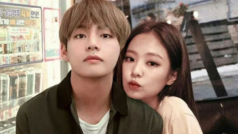 Romantic Connection Between BTS V & Blackpink's Jennie